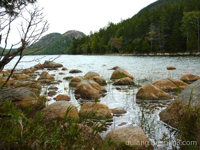 Jordan Pond, Acadia National Park , ME