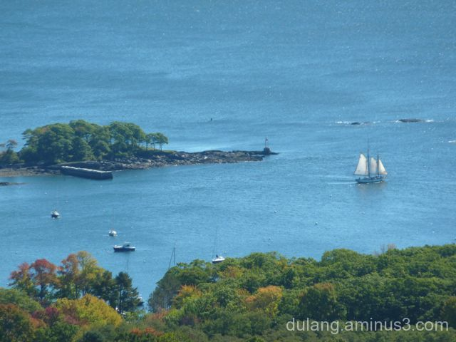 View from Mt. Battie, ME
