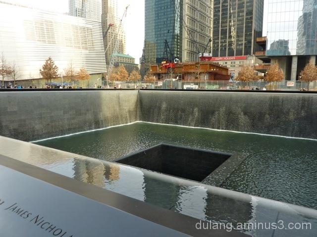 Ground Zero memorial pools