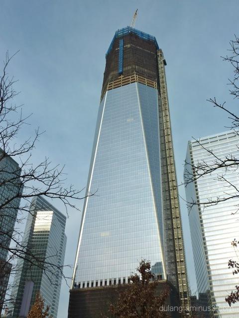 work in progress at Ground Zero