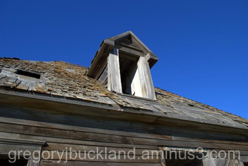 Abandoned House - dormer window