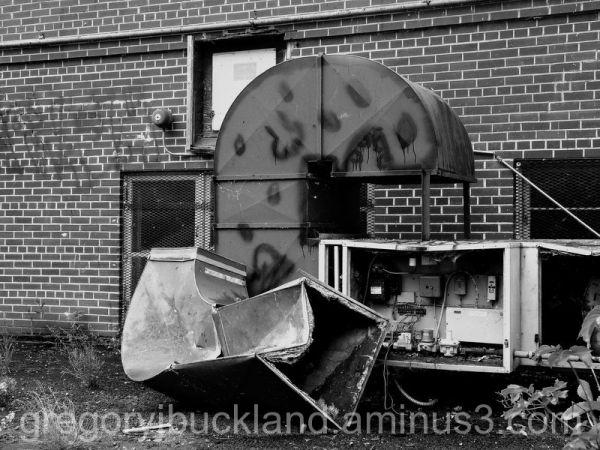 Abandoned Indian Hospital - back area