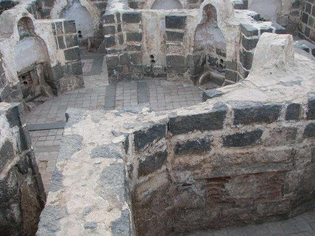 Ancient bathroom