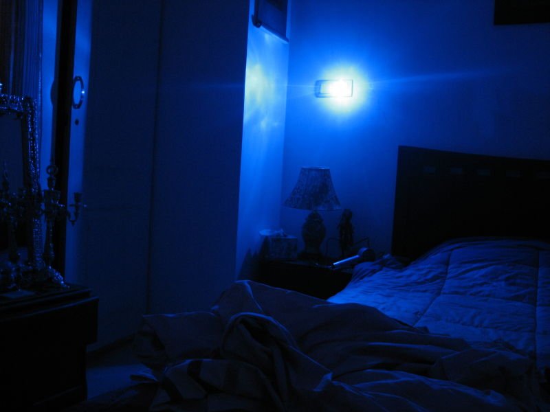 Blue Light In Bed Room Lifestyle Amp Culture Photos Sama