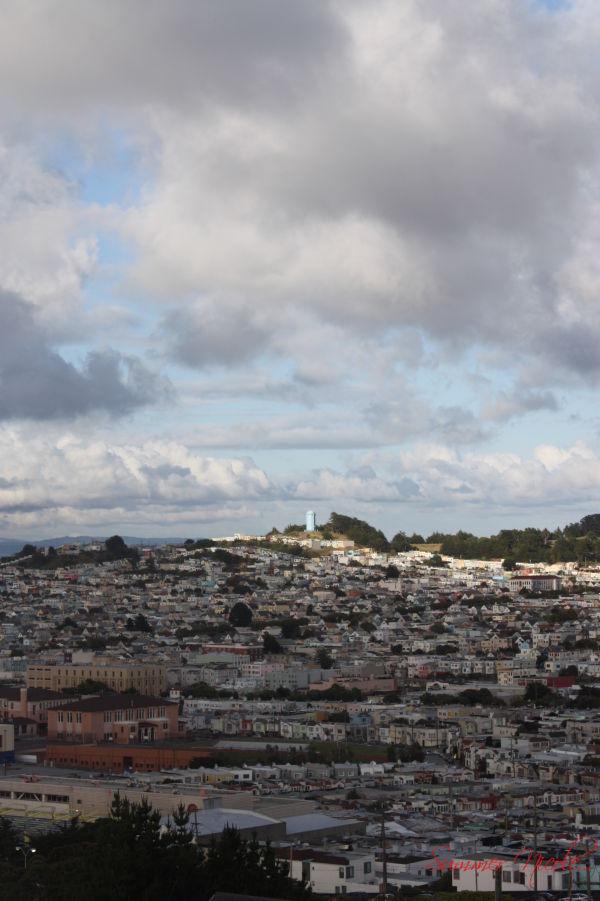 san francisco, city, view