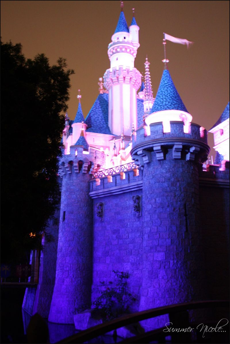 Sleeping Beauty's Castle... Disneyland