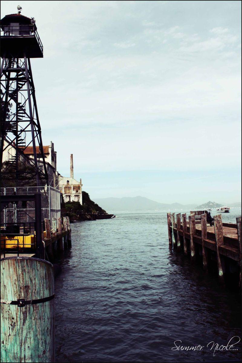 alcatraz, ocean, water, san francisco