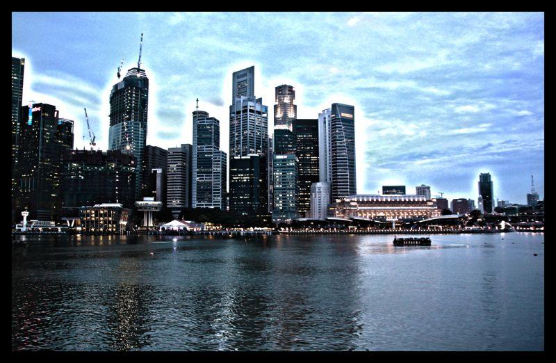 HDR - Singapore Skyline