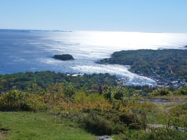 Camden, ME from Mt. Battie