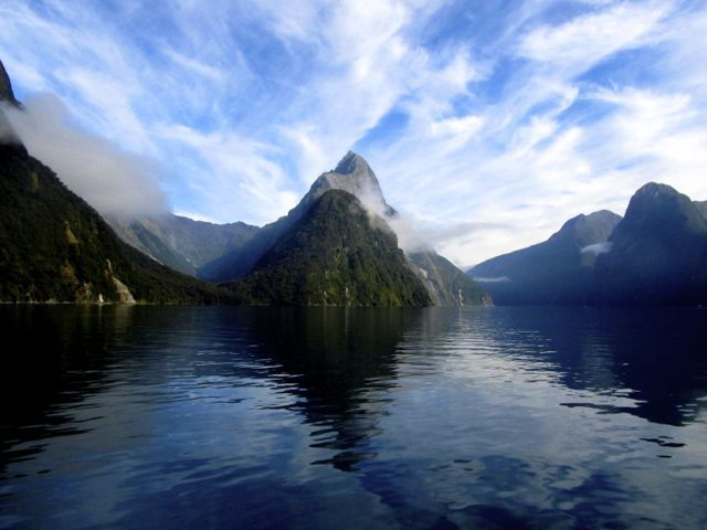 Mitre Peak, Milford Sound, New Zealand