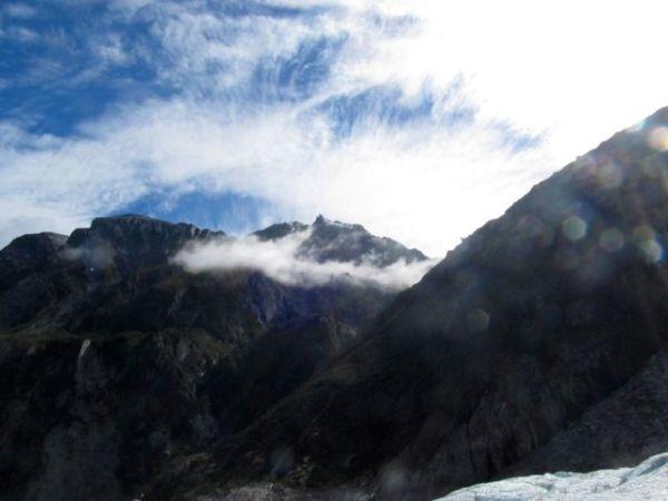 Mist on Fox Glacier, NZ