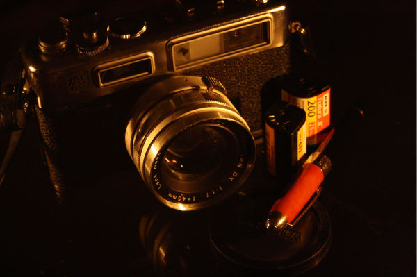Camera of yester years