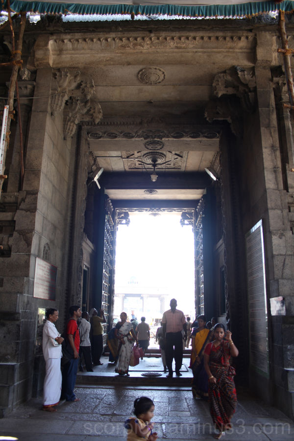Difficult Lighting Conditions - Chennai Temple..