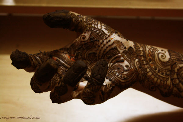 Traditional Indian Design..Marudhaani or Mehendi..