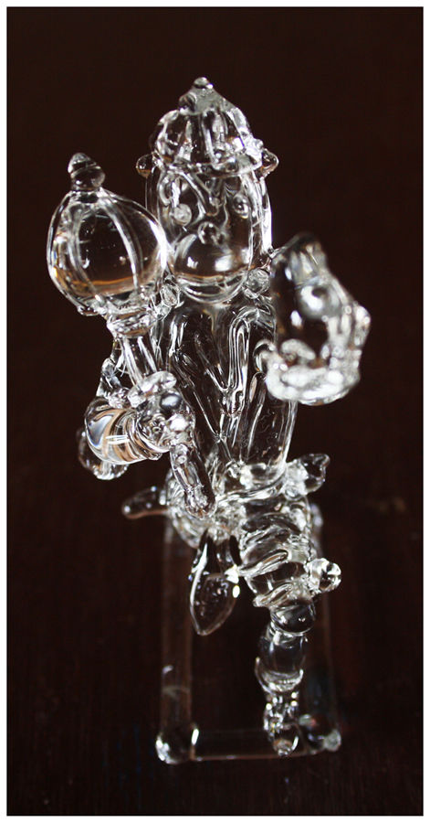 Glass Art- Lord Hanuman