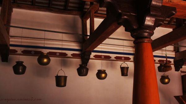 Inside a typical village home  - Tanjore district