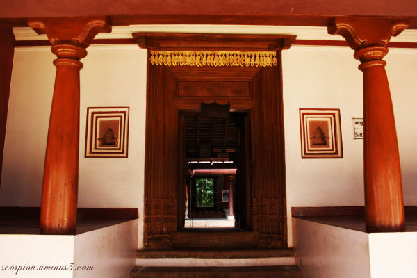 """Vaasarpadi ""(Main Entrance) to ""Thinnai "" house"