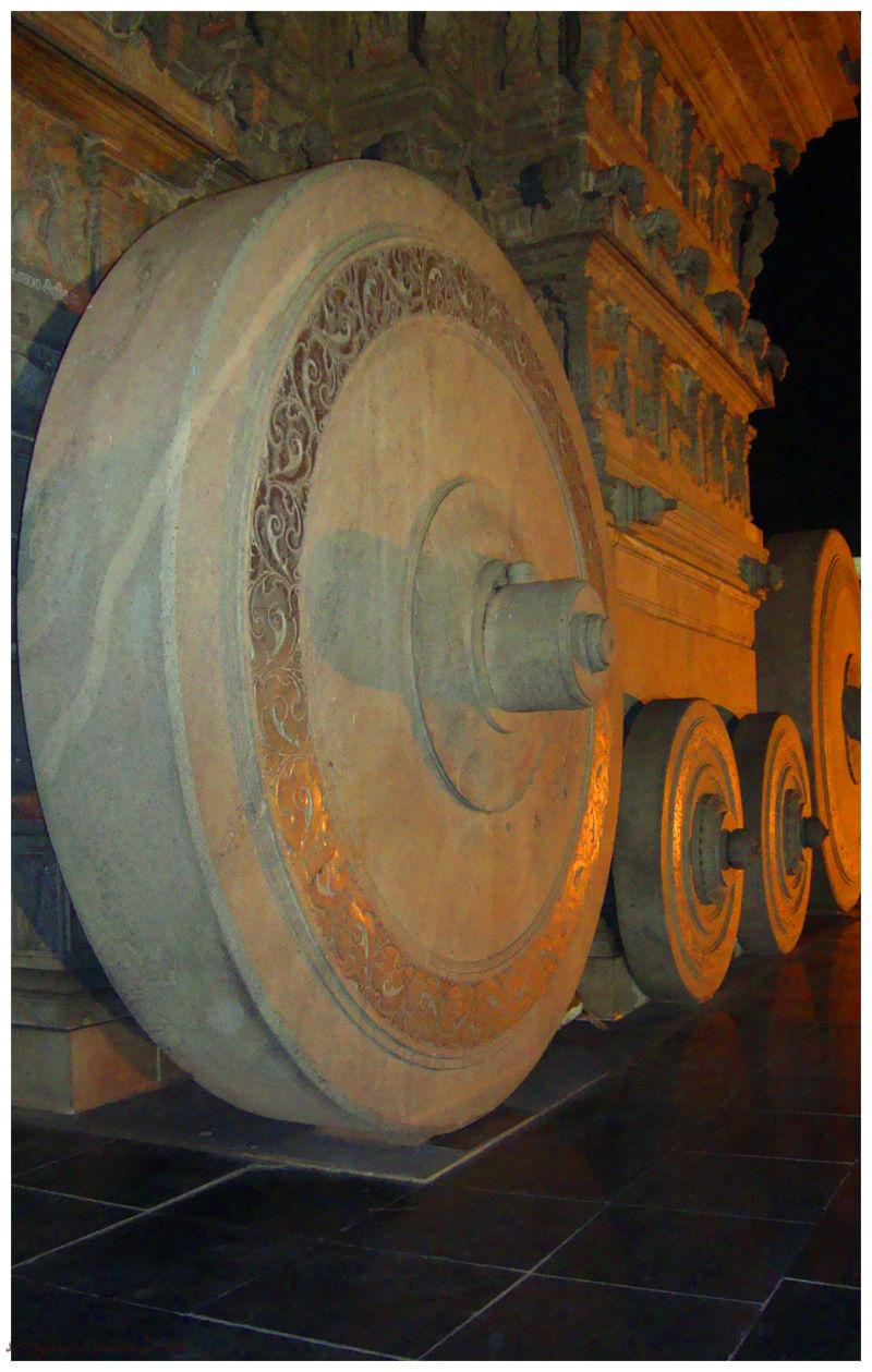 Valluvar Kottam - Chariot Wheel