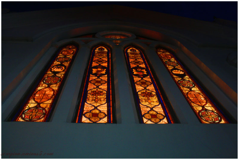Coloured Glass @ Santhome church, Chennai