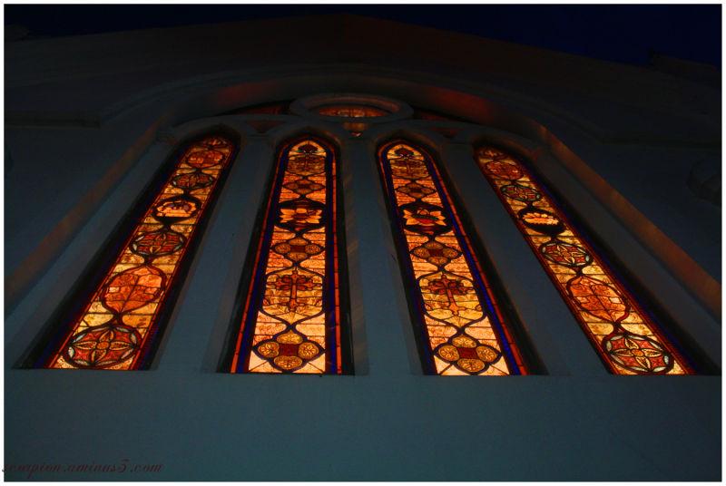 Coloured Glass @ Santhome church, Chennai