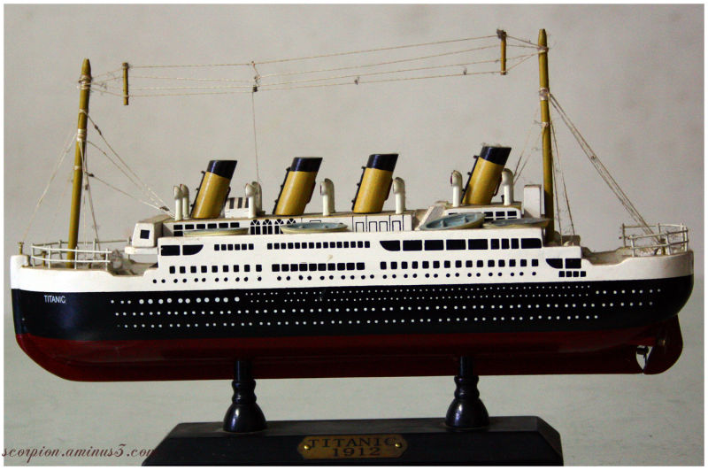 Musings on Miniature Titanic Ship...