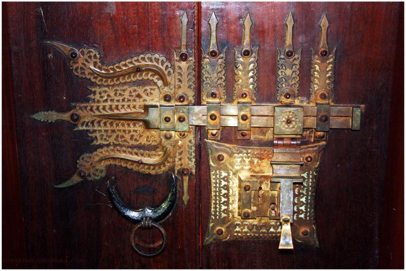 Decorative Latch - Kerala State