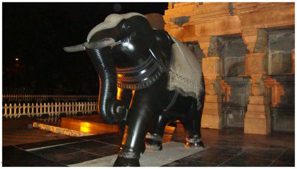 Elephant Statue @ Valluvar Kottam, Chennai