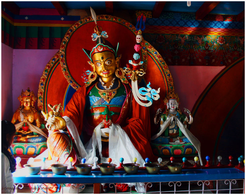 Idol @ Nyingmapa Buddhist Temple, Manali...