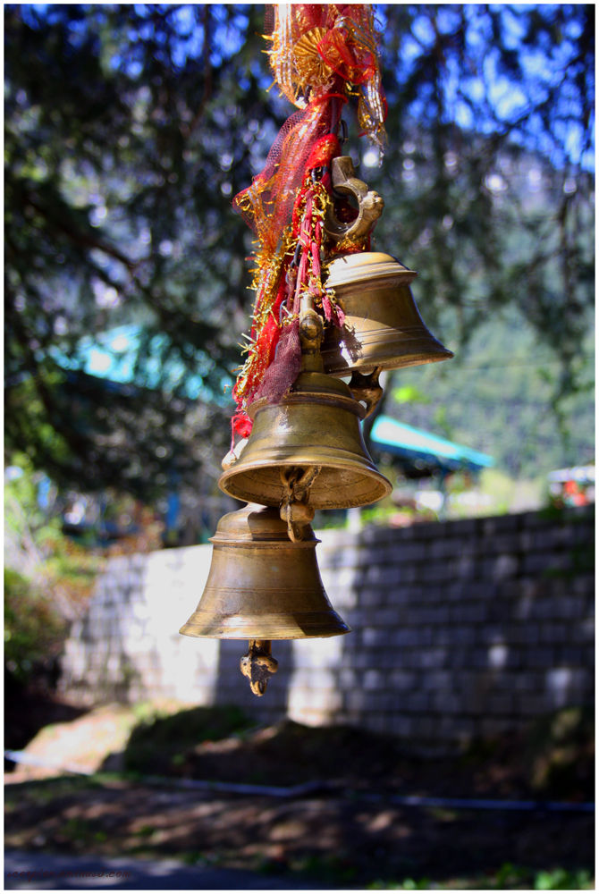 Temple Bell @ Tree Temple, Manali