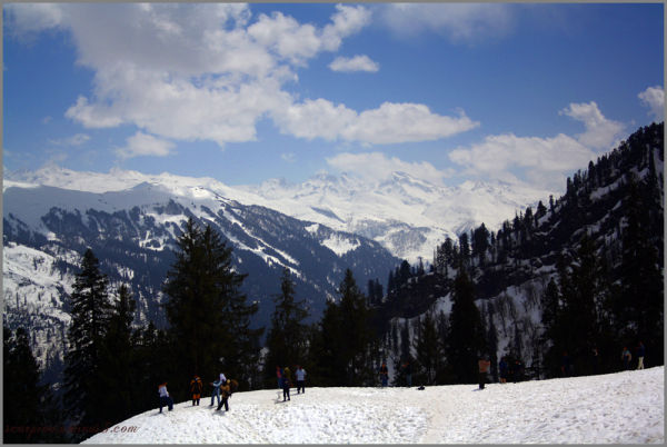Snow Point, Solang Valley,  Himachal Pradesh...