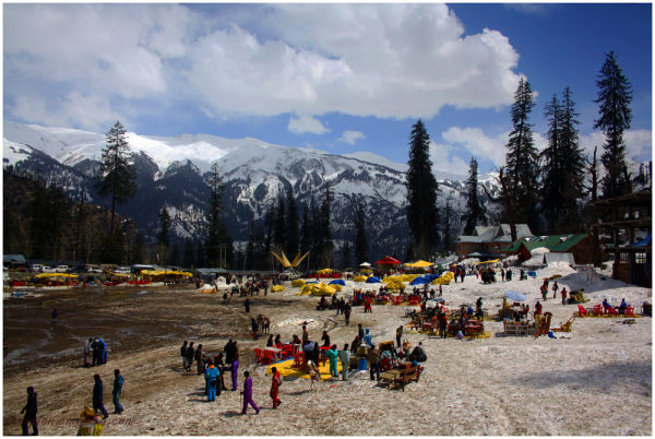 Snow Point -2, Solang Valley,  Himachal Pradesh...