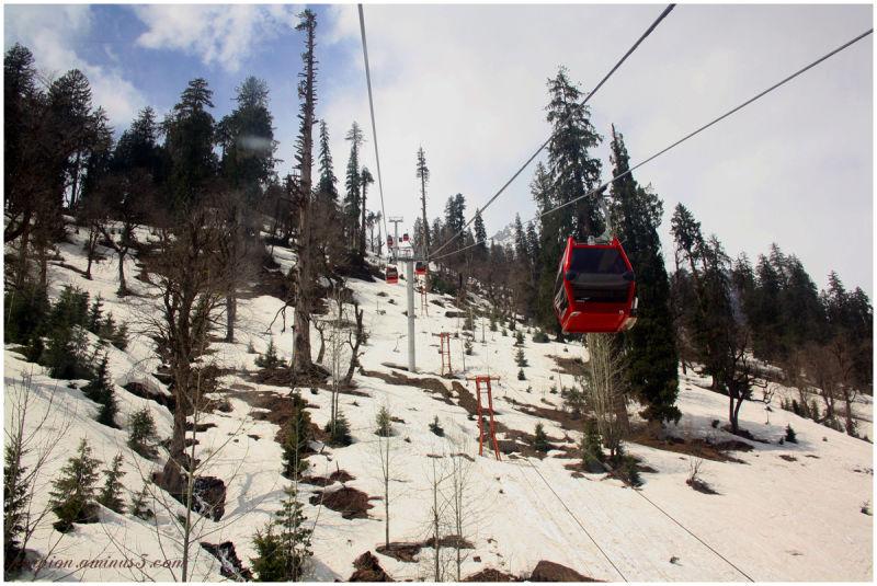 Ropeway, Solang Valley, Himachal Pradesh...