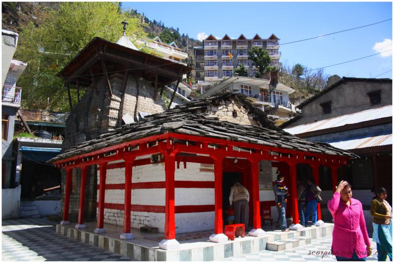 Sri Ram Temple, Manali, Himachal Pradesh...