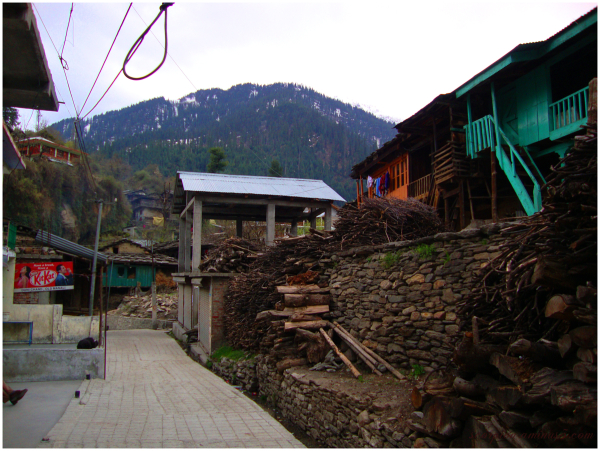 Old Manali, Himachal Pradesh...