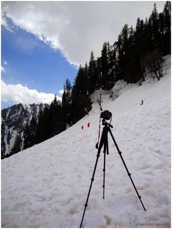 My photo gear at 8500 feet....