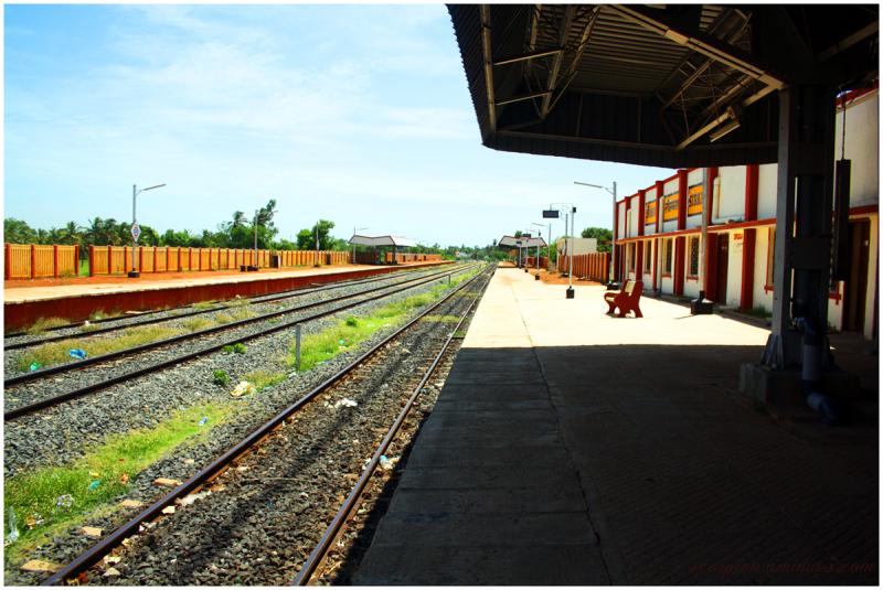 Sirkali Railway Station...