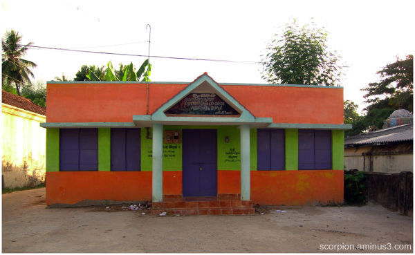 """Our  """"Colourful""""  Village Library...."""
