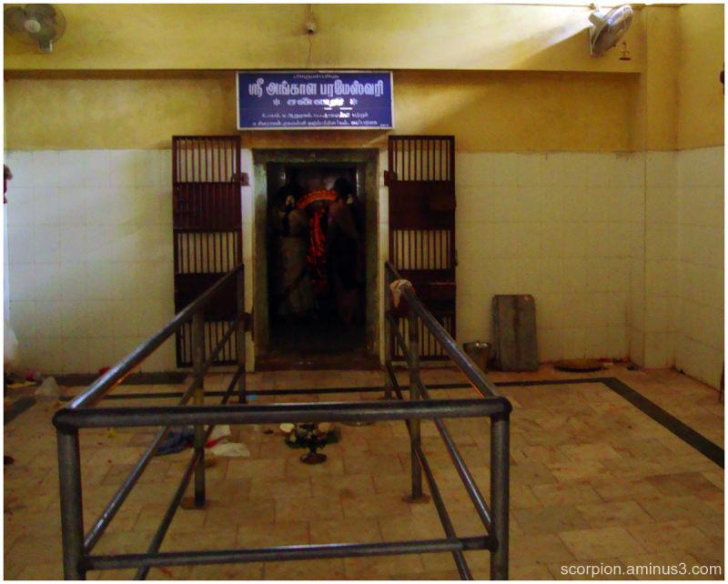 Sanctum sanctorum of our temple