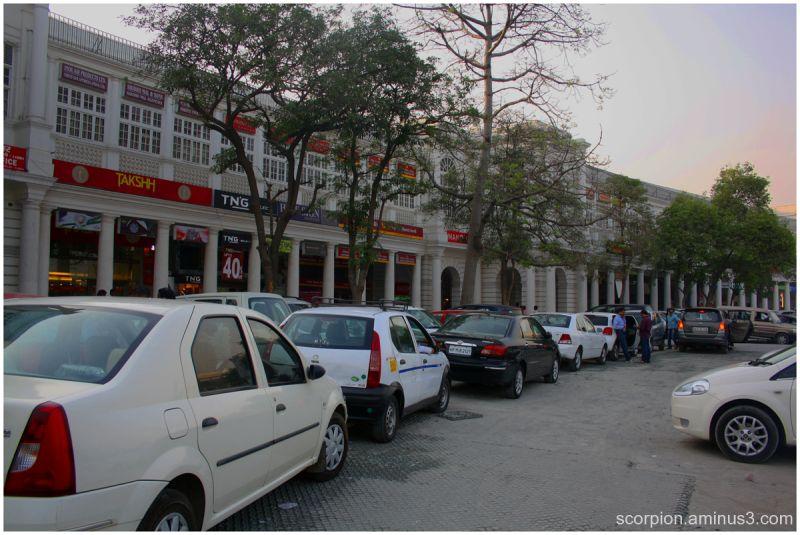 Connaught Place,  Delhi...