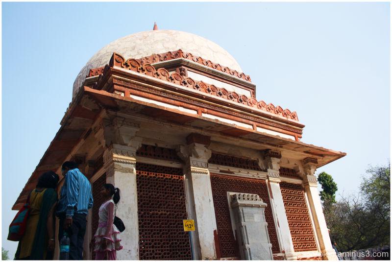Mosque @ the Qutub Complex, New Delhi...