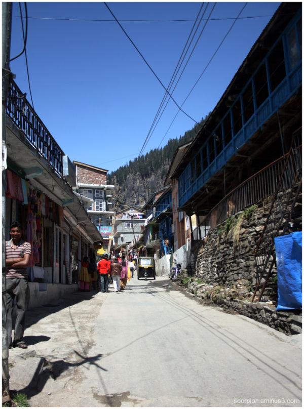Manali Street...
