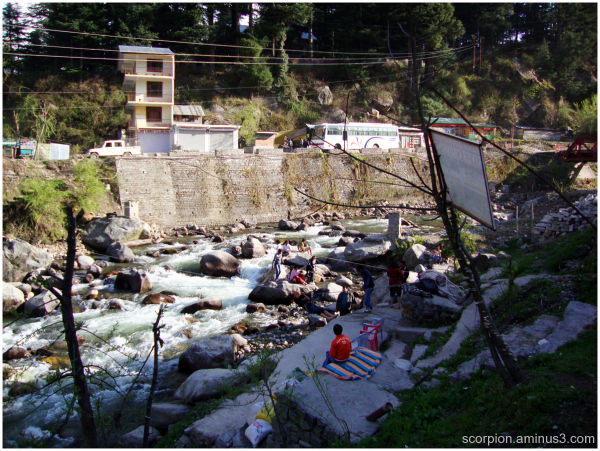River Crossing Point, Himachal Pradesh...