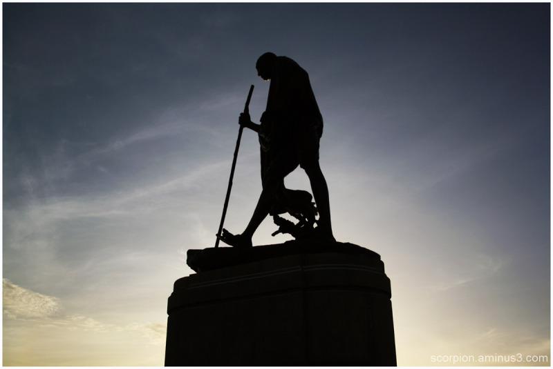 Remembering Mahatma Gandhi...