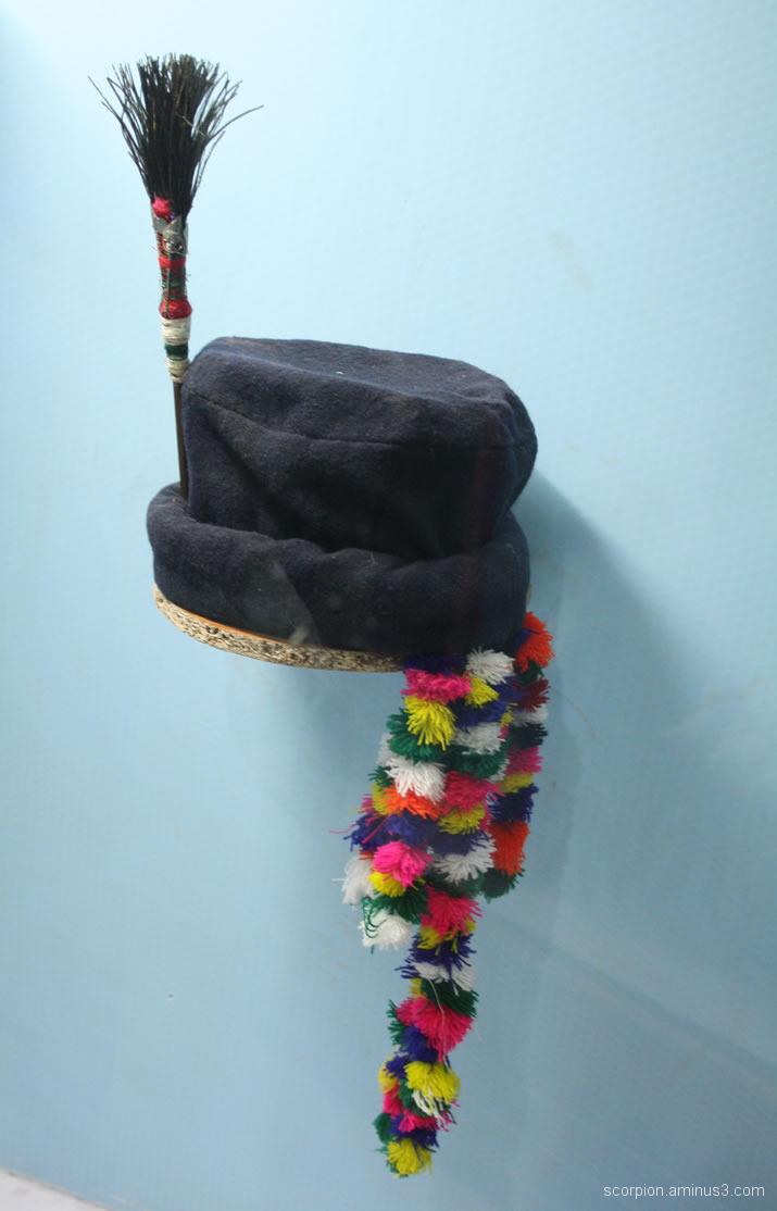 Decorative hat @ a museum in Himachal Pradesh...
