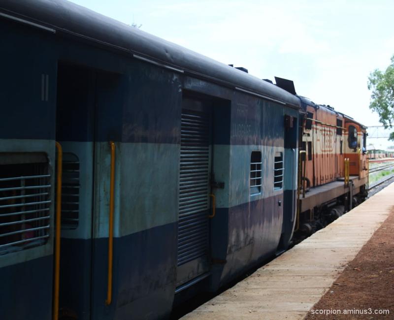Passenger Train @ the Sirkazhi Railway Station...