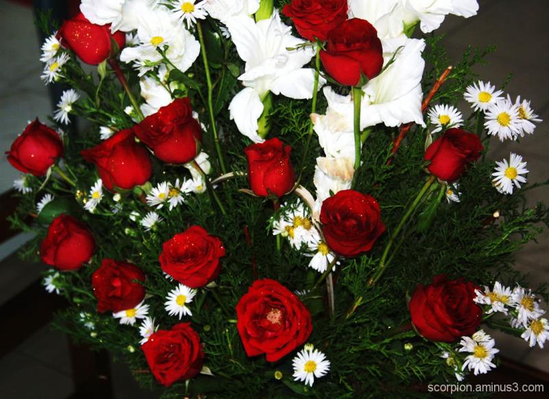 Bouquet of flowers...