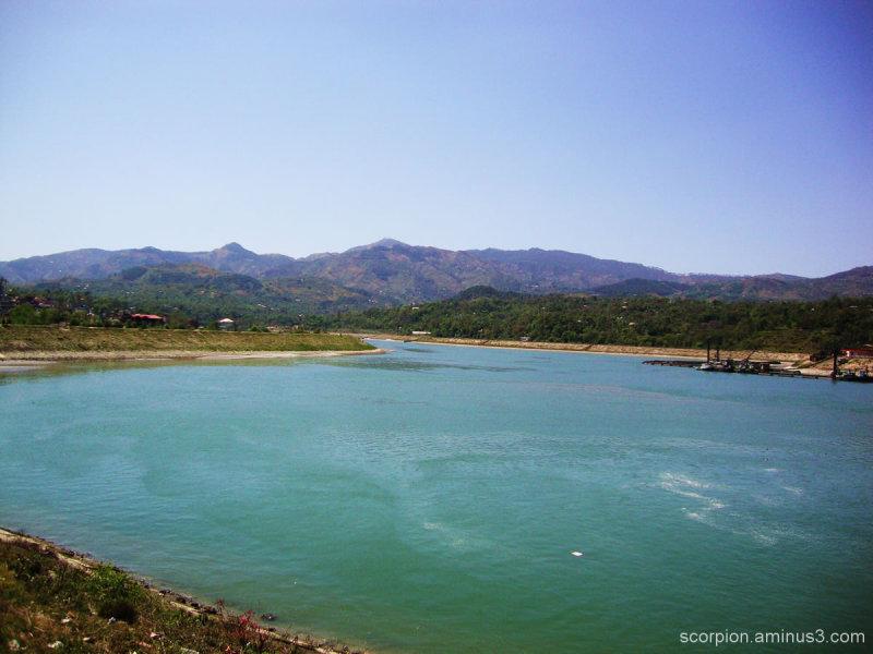 River Sutlej...