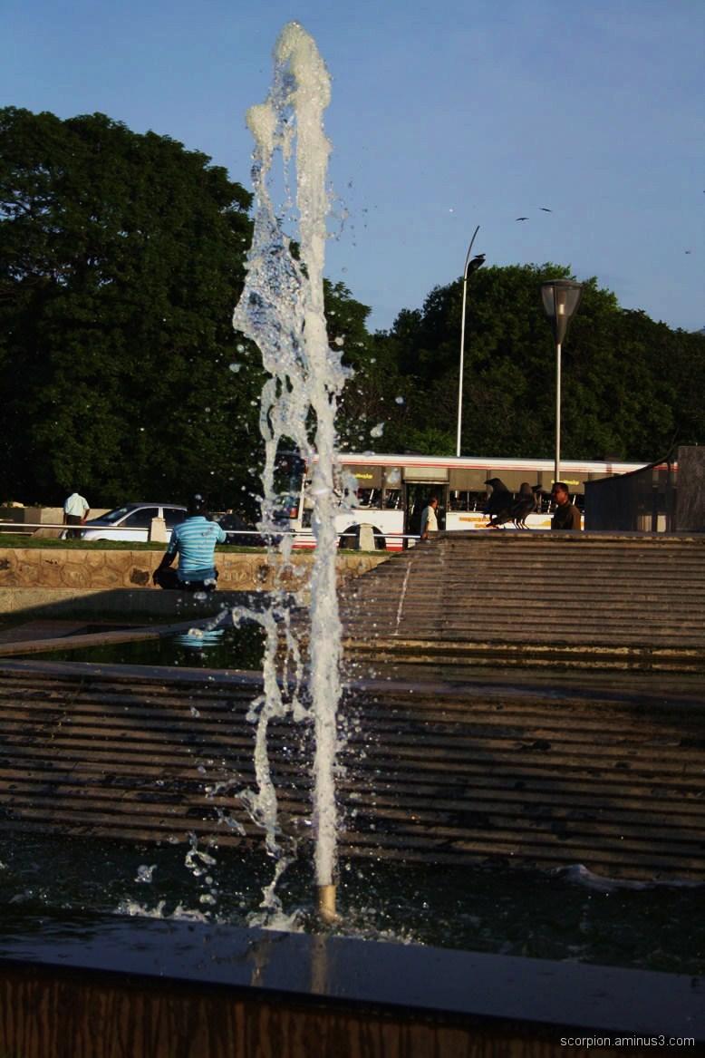 Fountain @ the Maina, Chennai...