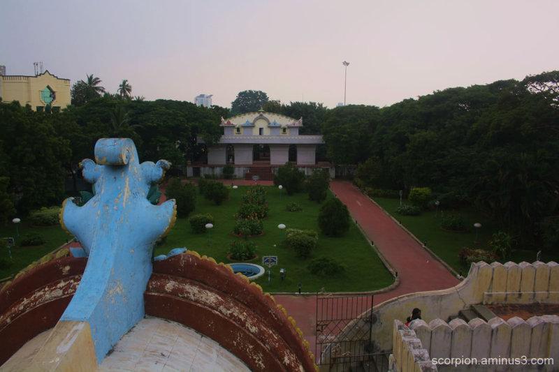 At the Valluvar Kottam, Chennai...