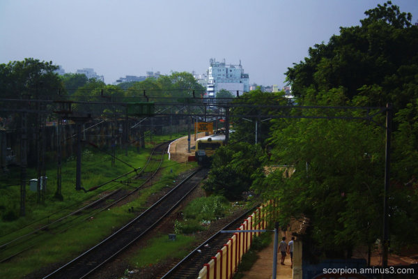 Park Station, Chennai...
